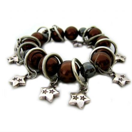 Magnetic Hematite Bracelet, Pure by Coppercraft FH17